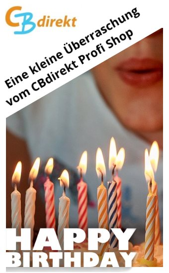 CBdirekt Happy Birthday