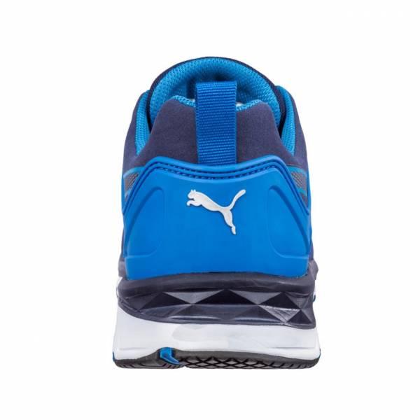 Détails sur Puma Chaussure de Sécurité Velocity 2.0 Bleu Bas S1P ESD Hro Src 643850 Travail