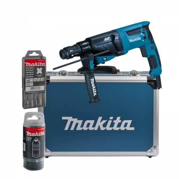 makita kombihammer sds plus 800w hr2631ft13 bohrhammer ebay. Black Bedroom Furniture Sets. Home Design Ideas